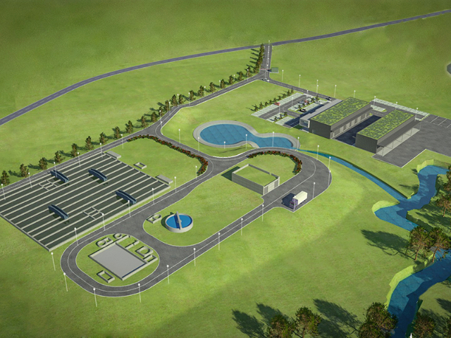 new wastewater treatment