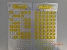 Slika 2: Colilert: Quanti-Tray_2000  po inkubaciji